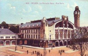 Rouen rue Verte gare