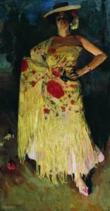 Vinogradov Sergey Spanish Dancer Otero 1903 (Museum of Petrozavodsk Russia)2